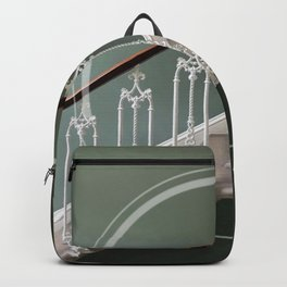 Stairway to heaven - circle graphic Backpack