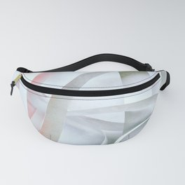 Paper colored pattern Fanny Pack