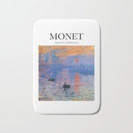 Monet - Impression, Soleil Levant Bath Mat