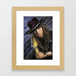 Richie Sambora Framed Art Print