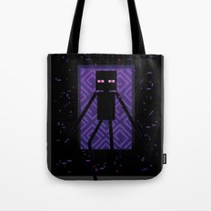 Here comes the Enderman! Tote Bag