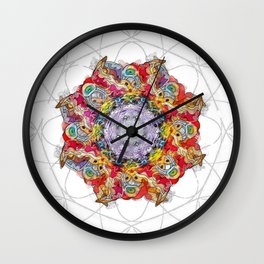 Perfect imperfection Wall Clock