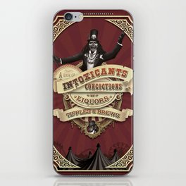 A Book of Intoxicants, Concoctions, Liquors, Tipples & Brews iPhone Skin