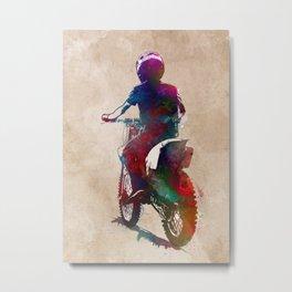 Motor racing #motor #sport Metal Print