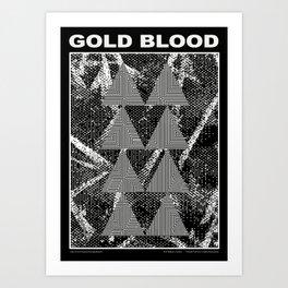 Gold Blood II Art Print