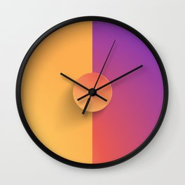 Gram of Insta Wall Clock