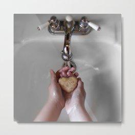 Clean Heart Metal Print