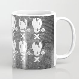 MUSIC SKULLS - PUNK ROCK HARDCORE BILLY HEAVY OI Coffee Mug