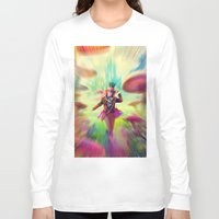 mad hatter Long Sleeve T-shirts featuring Mad Hatter by dreamshade