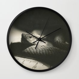 Film Rattlesnake Wall Clock