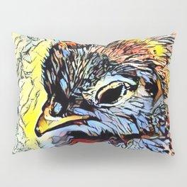 Color Kick - Chick Pillow Sham