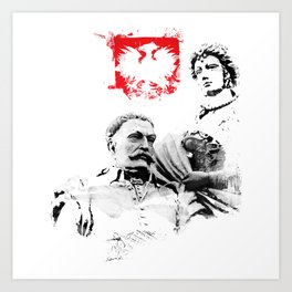 Polish King Jan III Sobieski & Marysienka Art Print