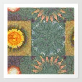 Subdepository In The Altogether Flowers  ID:16165-124313-39460 Art Print