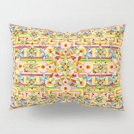 Rainbow Carousel Starburst Pillow Sham