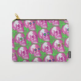 Skullwatchers Pattern Carry-All Pouch