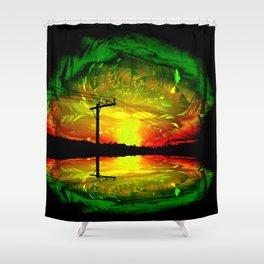 Night Eye Shower Curtain