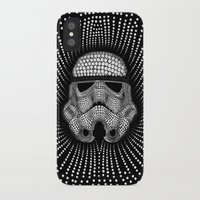 trooper iPhone & iPod Cases featuring Trooper Star Circle Wars by Msimioni