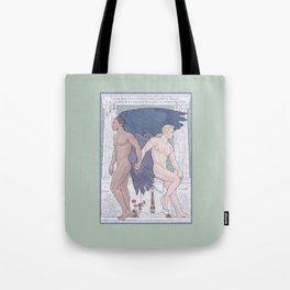 Hypnos and Thanatos (Sleep and Easeful Death) Tote Bag