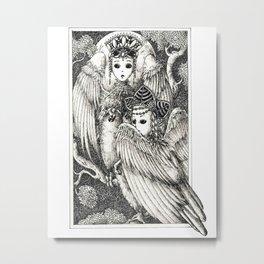 Harpies Metal Print