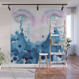 Cry, Cry Baby Watercolor edition Wall Mural