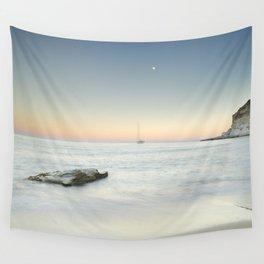 SuperMoon At Plomo Beach. Summer dreams Wall Tapestry