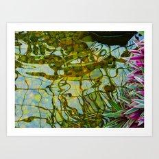 Reflected vision Art Print