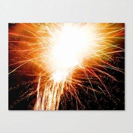 Firework I Canvas Print