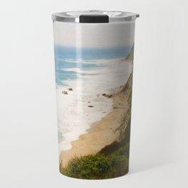 Mohegan Bluffs Cliffside, Block Island, Rhode Island Travel Mug