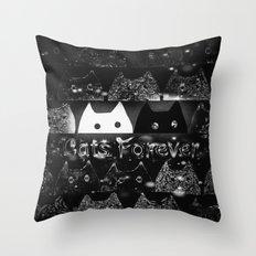 cats-924 Throw Pillow