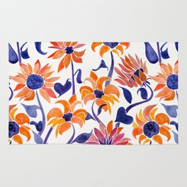 Sunflowers – Sunset Palette Rug