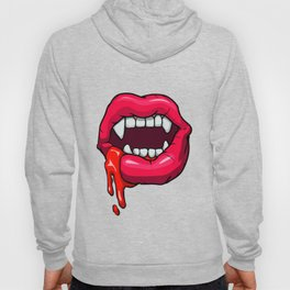 Sexy vampire mouth Hoody