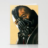 bane Stationery Cards featuring BANE by csmithart