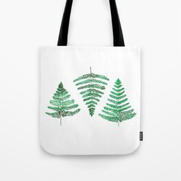 Fiordland Forest Ferns Tote Bag