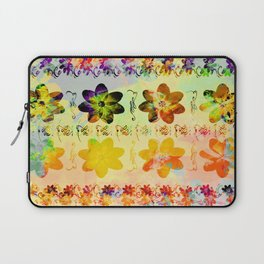 flower flip Laptop Sleeve