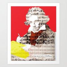 Ludwig van Beethoven 1 Art Print
