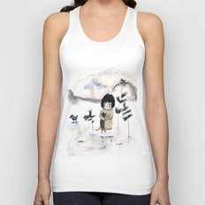 Cat and me Unisex Tank Top
