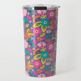 Floral Brights Travel Mug
