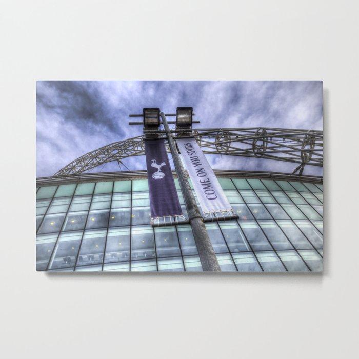 Come on You Spurs Wembley Stadium Metal Print