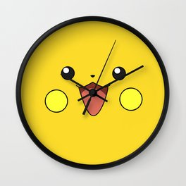 CUTEPIKACHU Wall Clock
