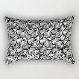 Zentangle Paradox Rectangular Pillow
