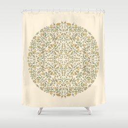 Sunshine Floral Shower Curtain