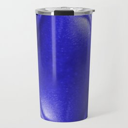 Blue Leather Lounge Travel Mug