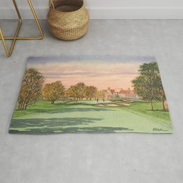 Winged Foot West Golf Course NY Rug