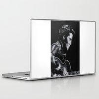 elvis Laptop & iPad Skins featuring Elvis by JeleataNicole