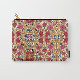 Spanish Flowers Carry-All Pouch
