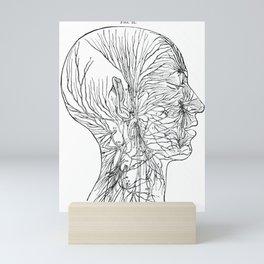 Body Diagram No. 6 Mini Art Print