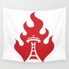 Seattle Riot | Flame Wall Tapestry