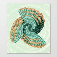 octopus Canvas Prints featuring Octopus  by DebS Digs Photo Art