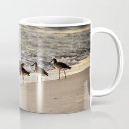 Birds on the Beach of Anna Maria Island Coffee Mug
