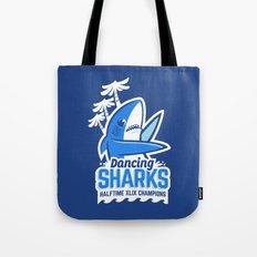 Dancing Sharks Tote Bag